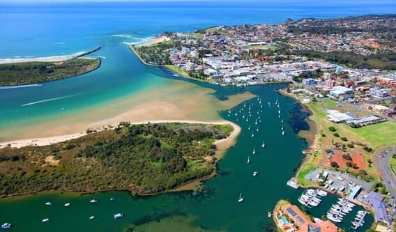 Port Macquarie Seaplanes Aerial Jeremy Rogers
