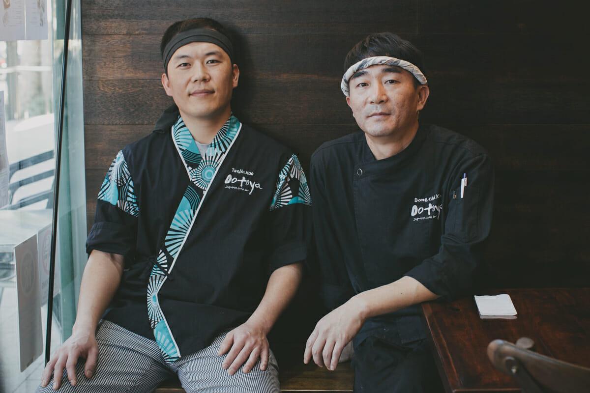 Chefs Koo & Kim