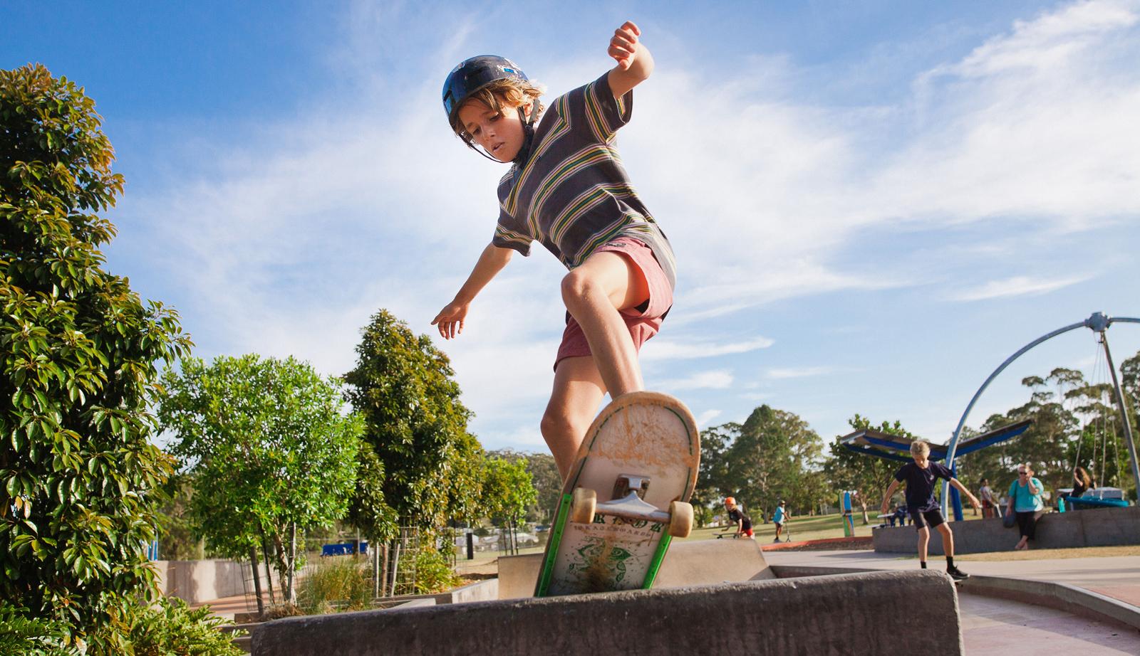 Gusto skateboarding
