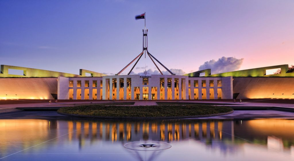Top 10 Australian Destinations - Canberra